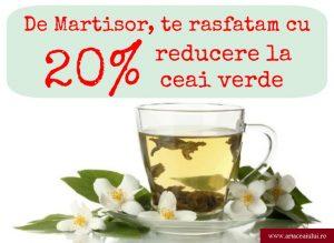 Reducere ceai verde